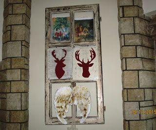 Pinelokamomata: Διακοσμήστε με παλιά παράθυρα