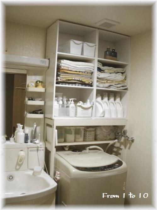 洗面所に置くことの多い洗濯機。限られた狭いスペースの収納に頭を悩ませる方も多いのでは。スペースを賢く活用し、スッキリ収納できるアイデアをまとめました。・・・