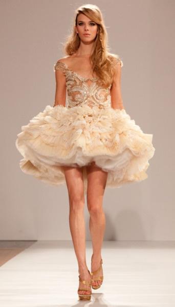 Dilek Hanif Haute Couture S/S 2012