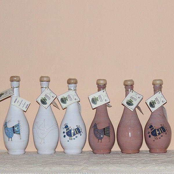 Bottiglia in ceramica di Mirto Rosso di Sardegna - SardinianStore.com