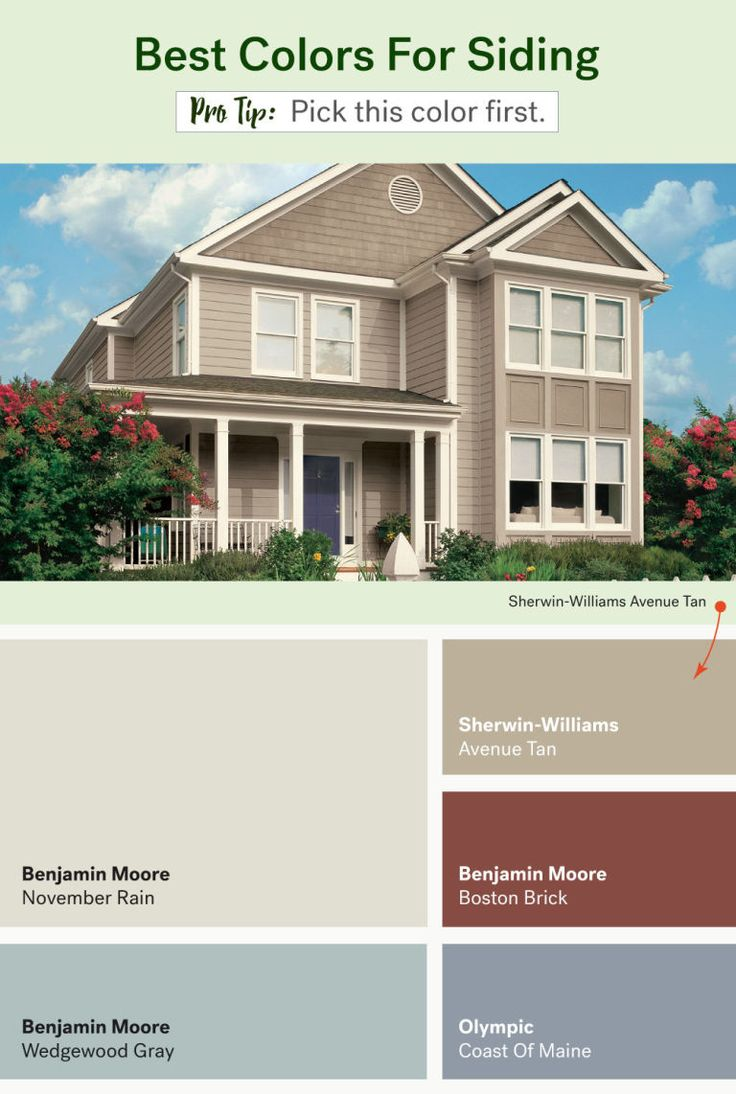 These Are The Most Por Exterior Home Colors
