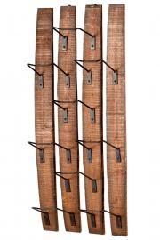 Fresno Wall Wine Holder - idea for barrel staves.  Can make towel holder for bathroom also!