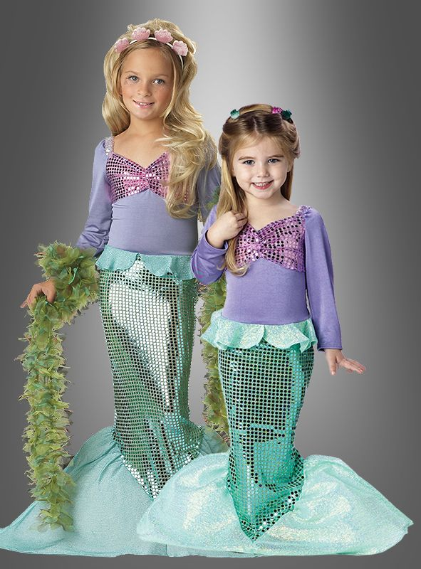 Meerjungfrau Kostüm für Kinder bei » Kostümpalast alast