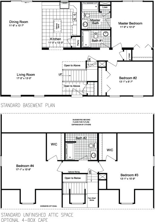 1000 images about modular homes on pinterest ontario for Single story cape cod house plans