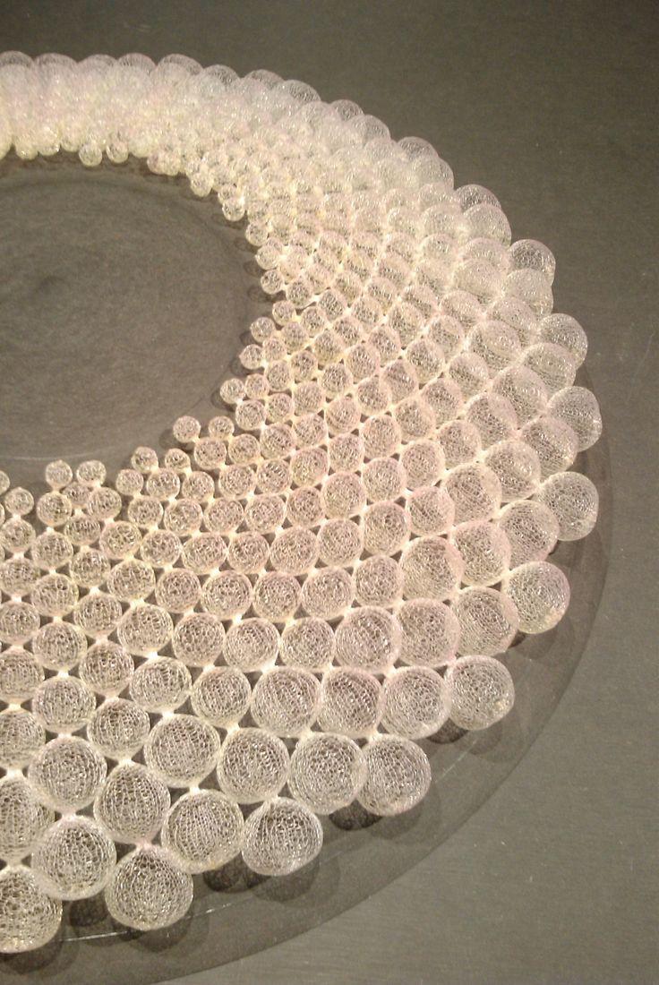 25|03|13 nora fok jewellery - cloud nylon exhibition