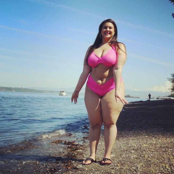 Fat ass on beach