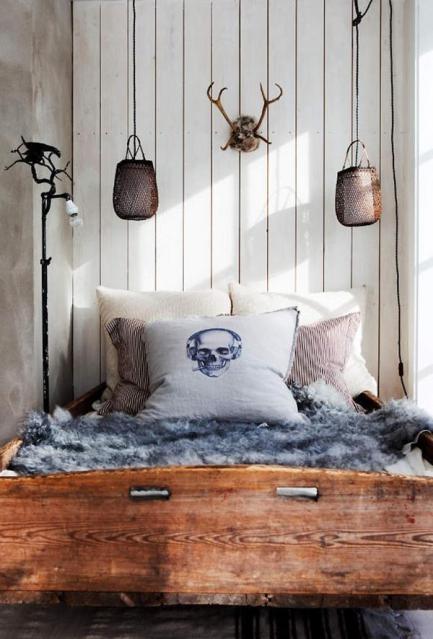 pillowww-via lovers in vain: Decor, Interior Design, Skulls, Ideas, Dream, House, Bedrooms, Pillows