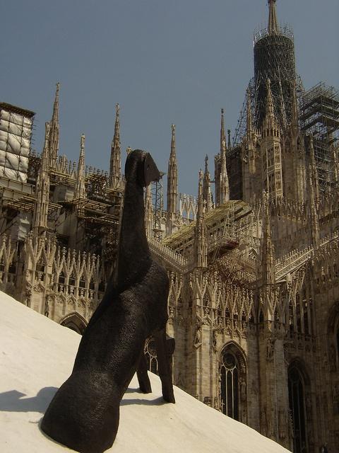 Duomo di Milano e Paladino