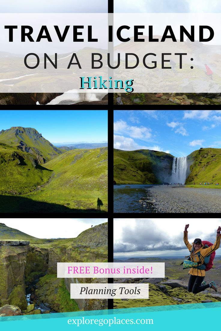 Ready to hit the trails this summer? See more and spend less while hiking Iceland's Iconic Hikes: Landmannalaugar, Þórsmörk, and Skogáfoss. + Read More
