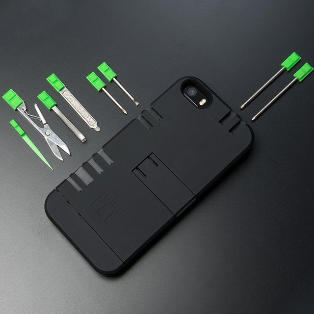 The IN1 Multi-Tool Utility Case is supposed to be a case for your iPhone that's also a very useful toolkit.