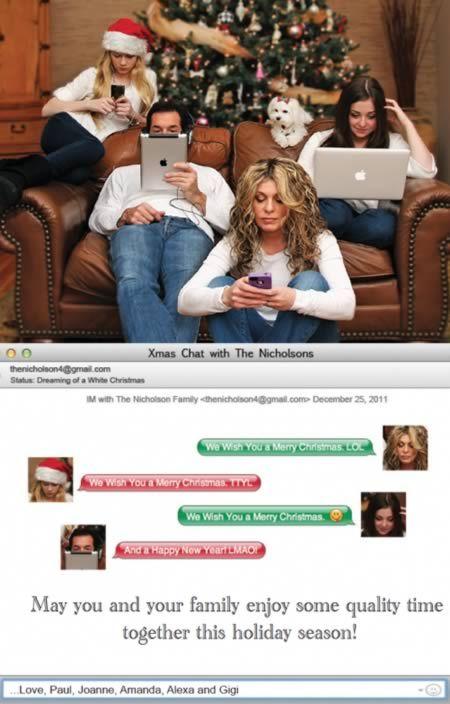 15 Hilarious Christmas Card Photos - Oddee.com. ummm the naked family ones are weird.