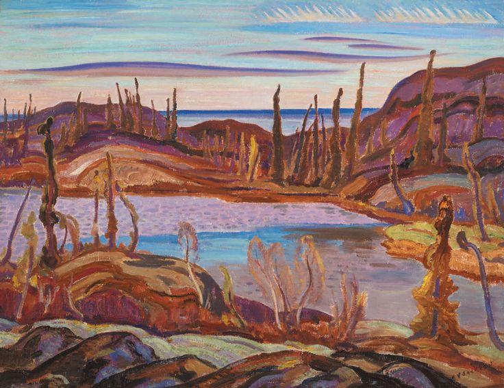 A.Y. Jackson - Morning, Great Bear Lake - 1938