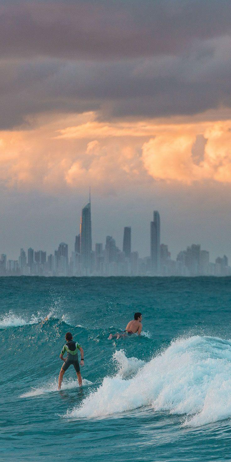 The city in sight on the Gold Coast - by Matt Glastonbury