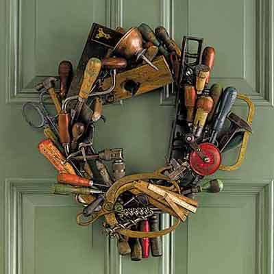 Here at This Old House, we like tools. A lot. So, we attached beautiful antique tools to a sturdy wi... - Provided by This Old House.