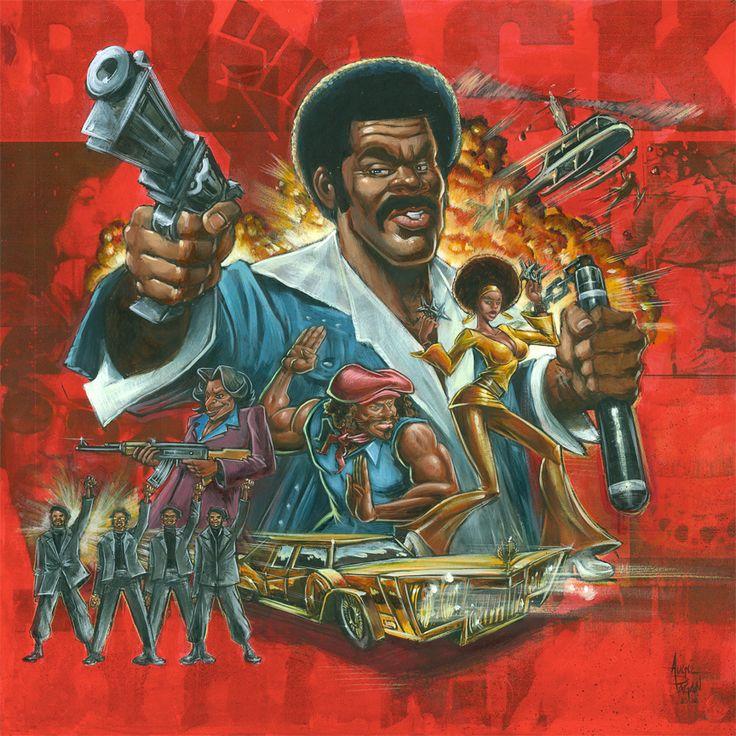 Black Dynamite by soul71.deviantart.com