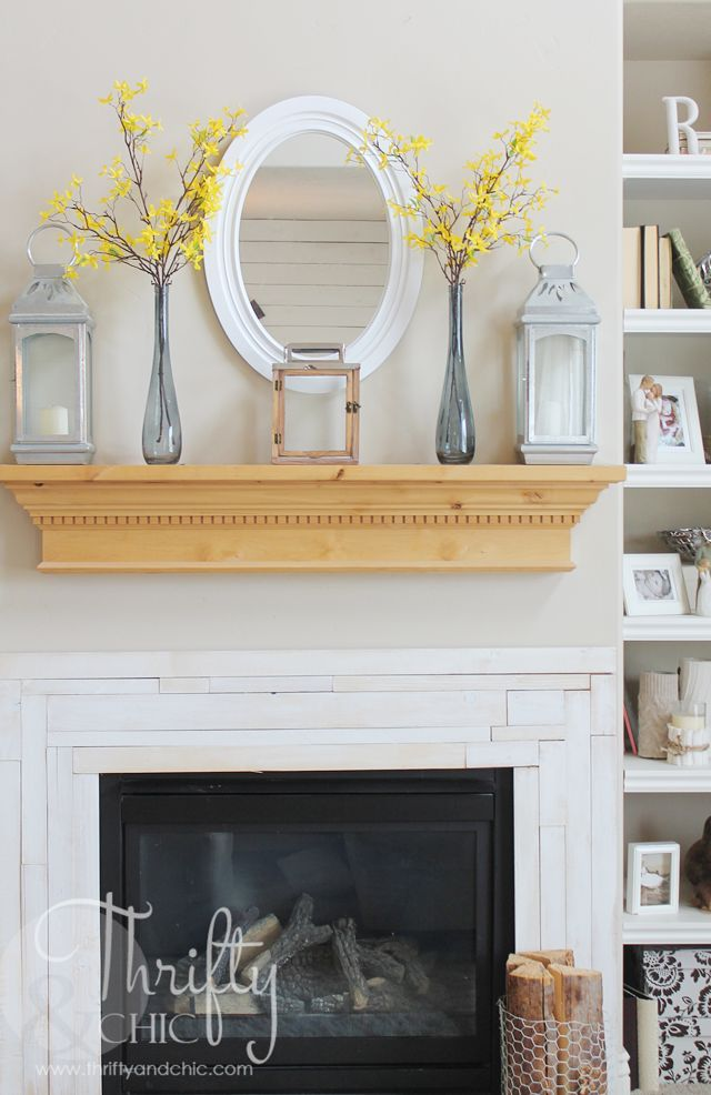 Summer Mantel Decor And Decorating Ideas 2015