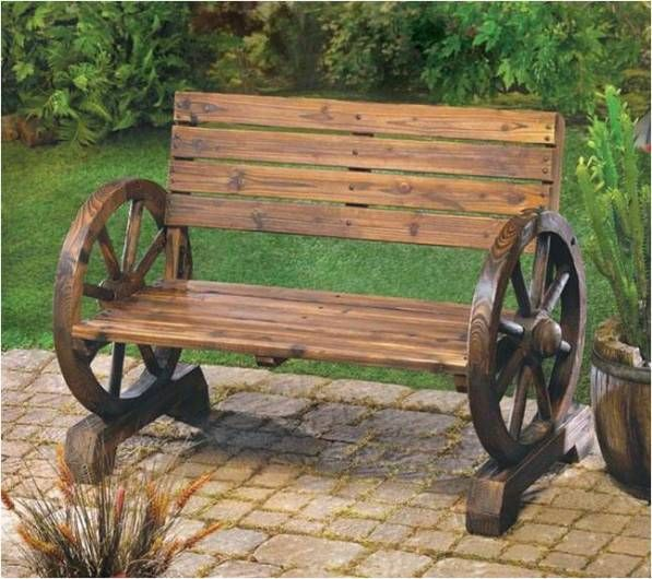 Solid Wood Benches – Indoor and Outdoor Decoration - Find Fun Art Projects to Do at Home and Arts and Crafts Ideas