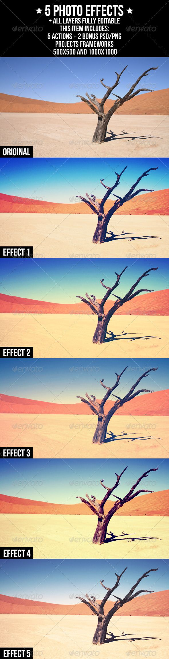 5 Photo Effects