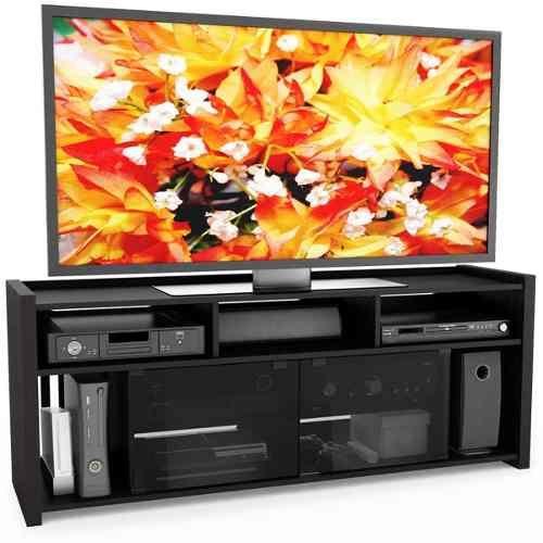 Mueble De Tv Moderno En Madera Lacada Tv15 - $ 369.000
