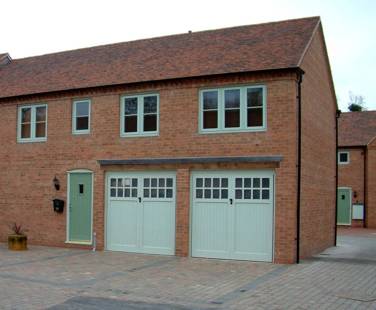 Magnificent 20+ Wood Double Garage Door Decorating Inspiration Of ...