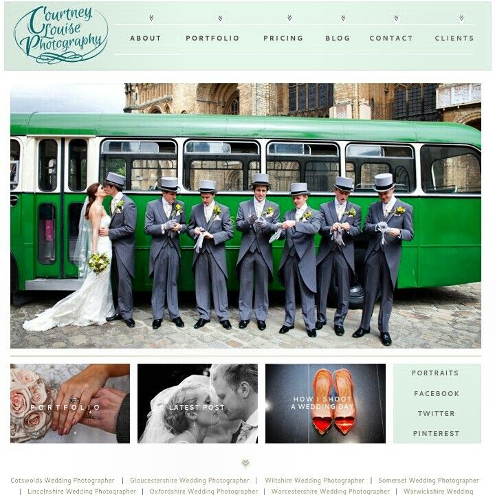 New website - Courtney louise photography #wedding #photographer