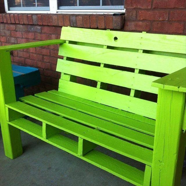 Pallet outdoor furniture pinterest downloadable free plans