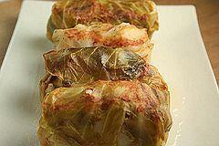 Ukrainian Stuffed Cabbage Recipe with Potato-Buckwheat Filling - Recipe for Ukrainian Stuffed Cabbage with Potato-Buckwheat Filling - Holubt...