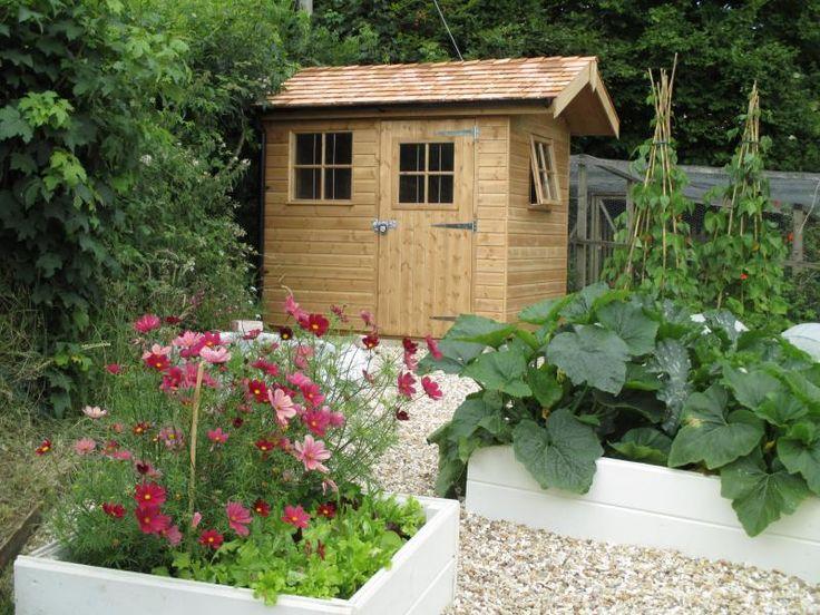 143 best customer garden sheds images on pinterest - Garden sheds nottingham ...