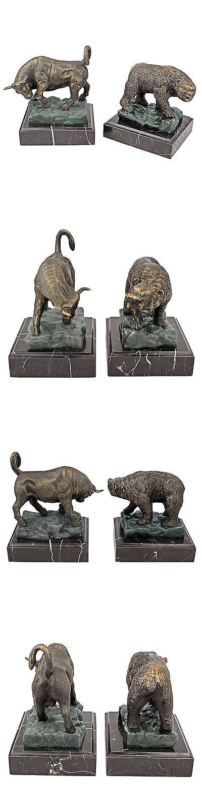 bookends 20551 design toscano the bull and bear of wall on wall street today id=95432