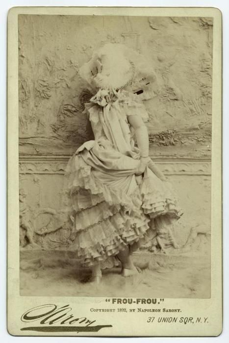 Napoleon Sarony ~Frou-Frou,1892