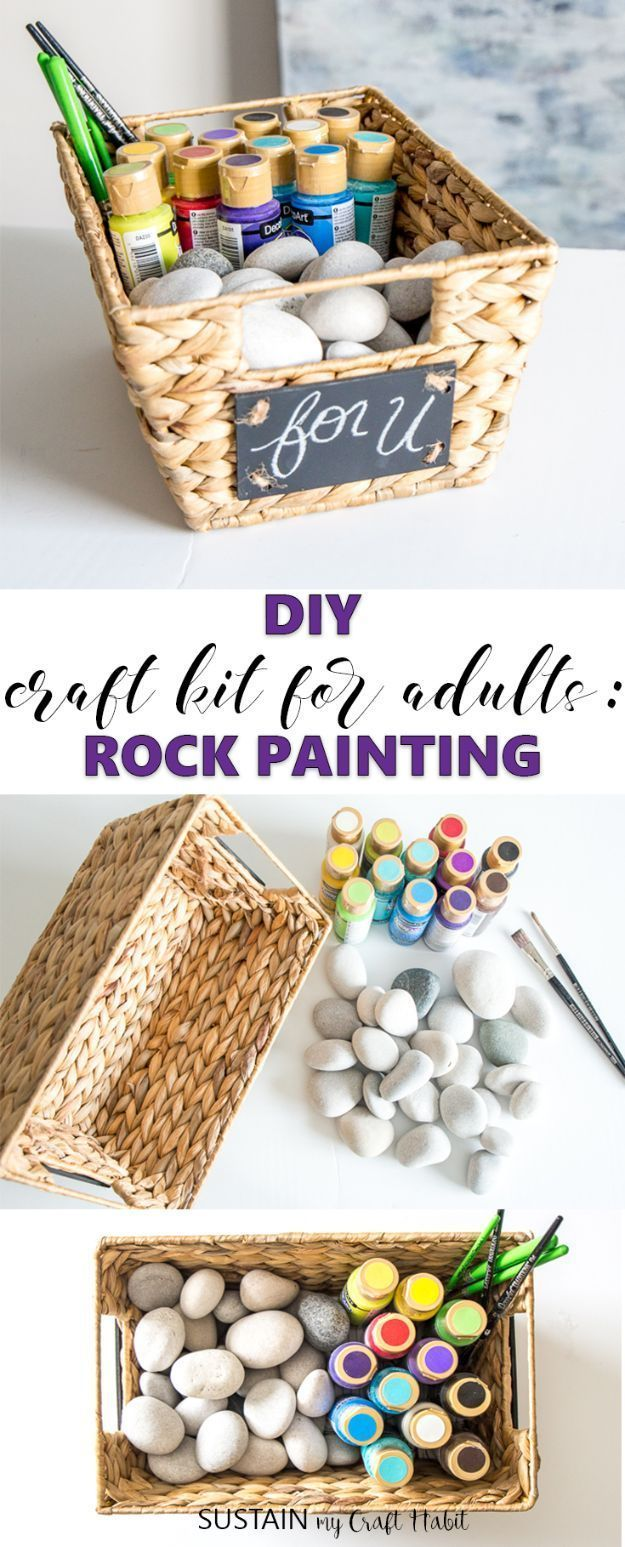 50 Fun Diys For Adults Diy Craft Kits Easy Arts And Crafts Craft Kits For Kids