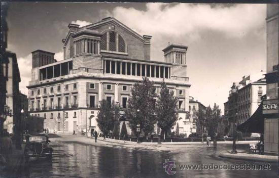 MADRID.- PLAZA DE ISABEL II Y PARTE POSTERIOR DEL TEATRO DE LA OPERA - Foto 1
