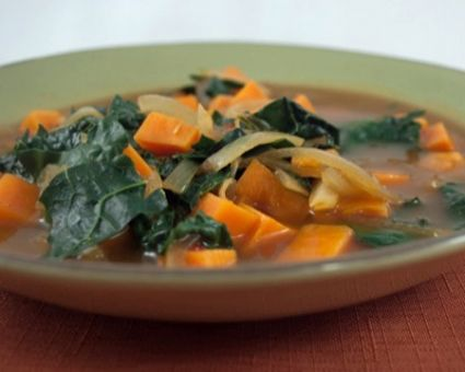... Challenge on Pinterest | Kale, Roasted carrot soup and Nasi goreng