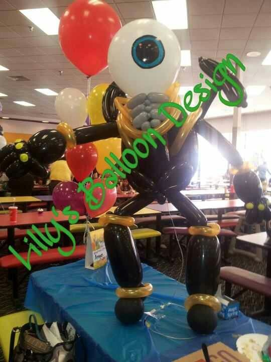 Skylander Giants, Eye Brawl , Balloon Sculpture
