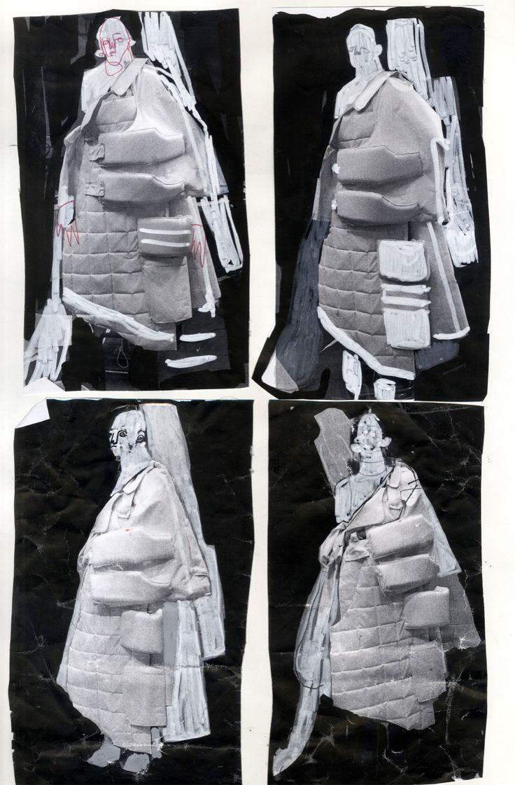 Fashion Sketchbook - fashion design development; fashion student portfolio // Alexandra Russo