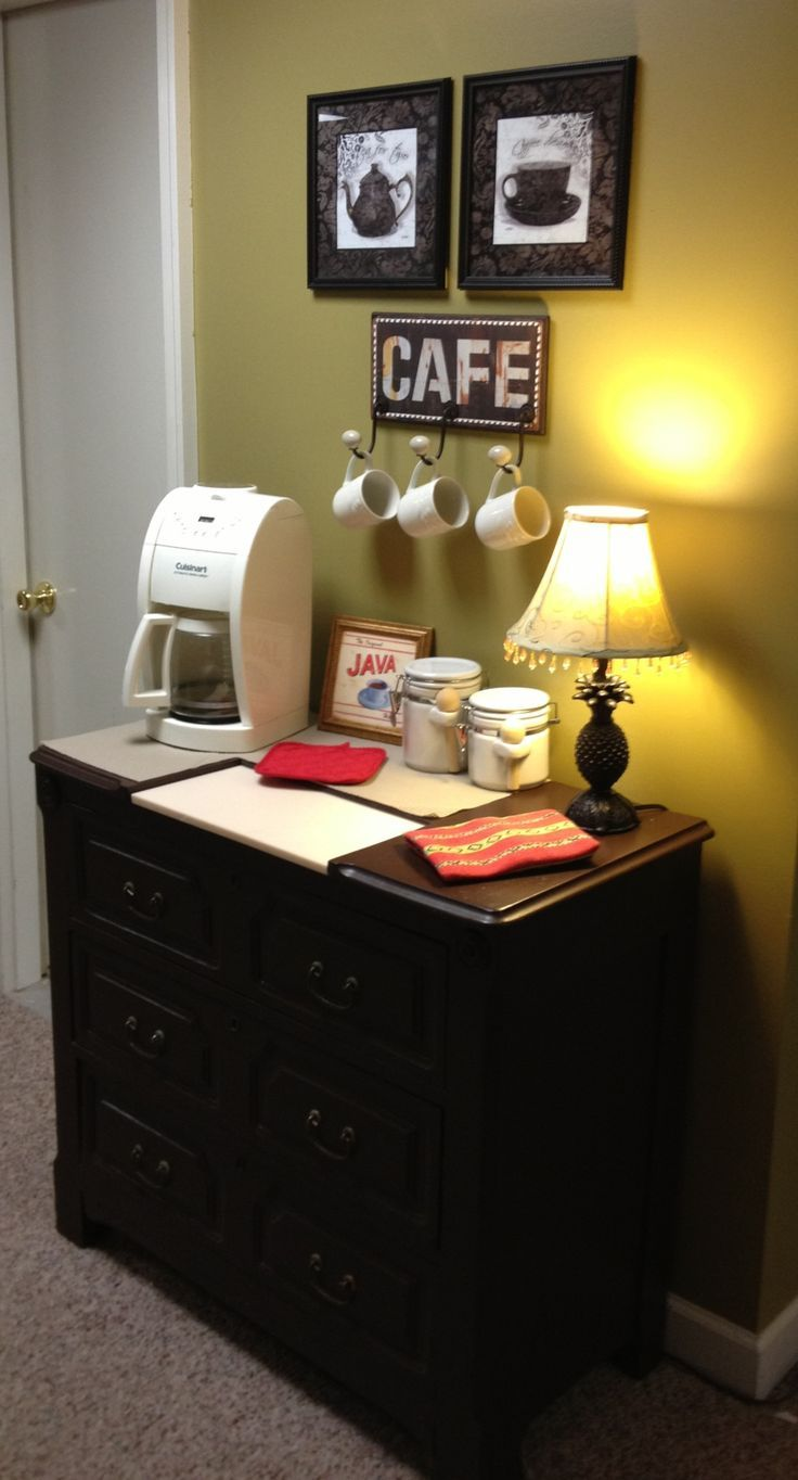 Coffee Bar Ideas For Your Kitchen Coffee Station Self