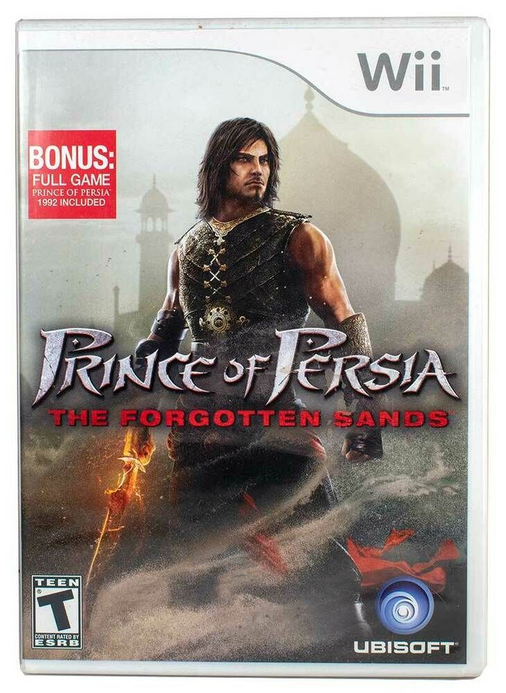 Prince Persia Forgotten Sands 2010 Nintendo Wii Video Game
