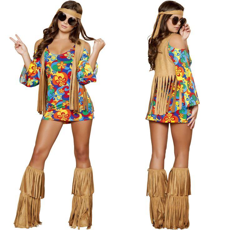 Mu00e1s de 25 ideas increu00edbles sobre Disfraz hippie casero en Pinterest | Disfraces de halloween ...