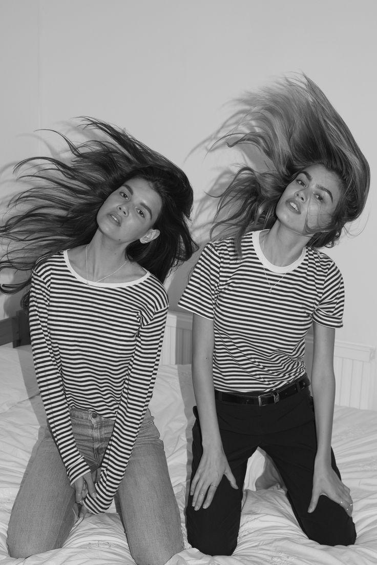 Joanna & Sarah Halpin von Drew Wheeler, #halpin #joanna #sarah #wheeler