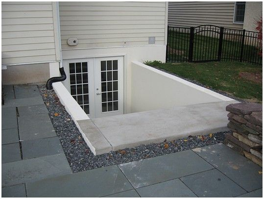 Egress systems inc spring city backyard ideas for Basement entry ideas