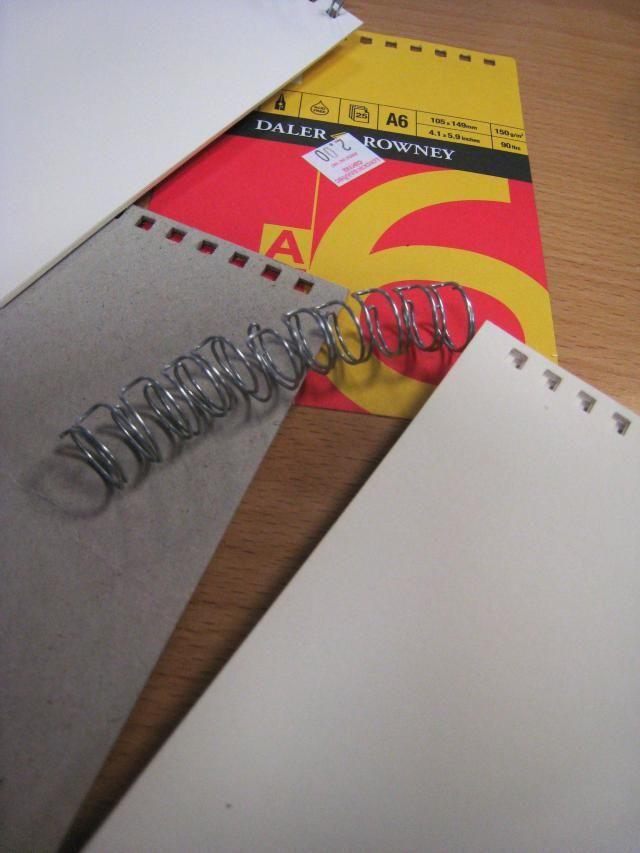 Best Sketchbook for Painting: Wire-Bound, Hardcover Sketchbook by Daler Rowney