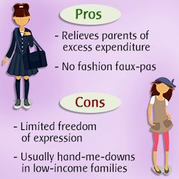 disadvantages of school uniforms essay