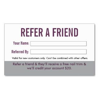 referral cards template free