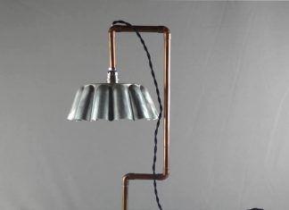 DENIS PAPIN: baking mould table lamp by Le Siècle des Lumières
