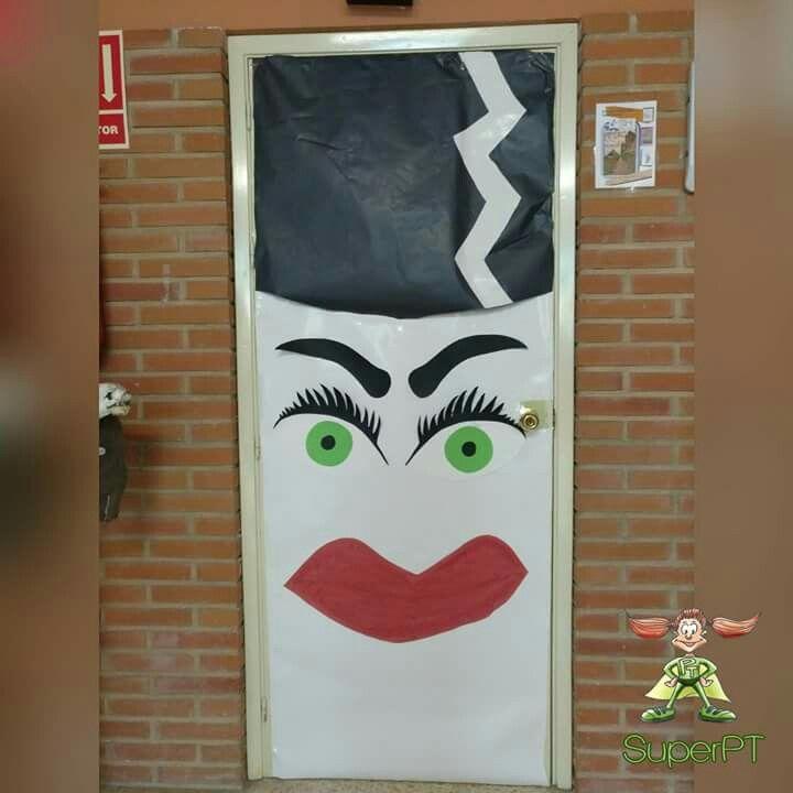 50 best Puertas decoradas Halloween images on Pinterest Halloween