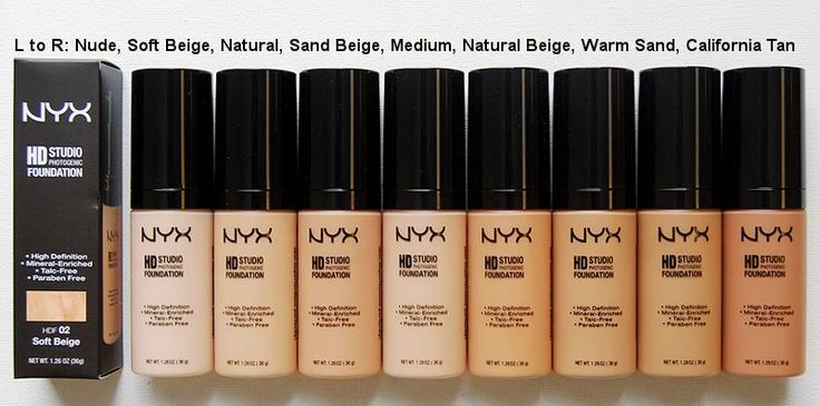 NYX HD Studio Photogenic Foundation - rated 4.4 out of 5