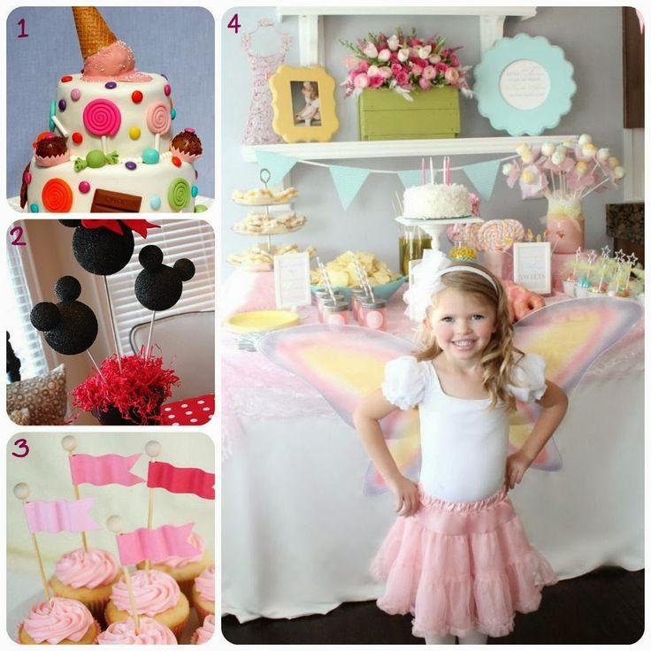 Idee per la feste di compleanno dei bambini ~ Le creazioni di Marzia