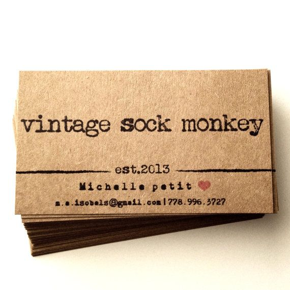 Recycled business cards  Set of 50  Kraft  by AnnsPaperie on Etsy, $16.99