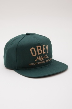 OBEY MFG SNAPBACK HAT
