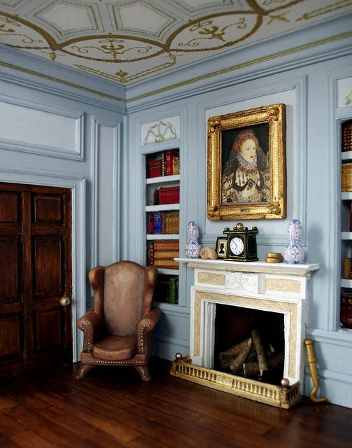 """""""Georgian paneling by sweetington (Tim Sidford), via Flickr."""" So amazingly well-done."""